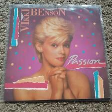 Vikki Benson - Passion UK 12'' Disco Vinyl