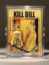 Kill Bill Uma Thurman Custom Mini Action Figure w Display Case 367 Mini-fig