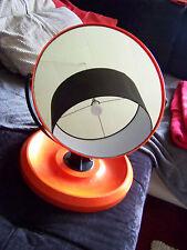 Toller, großer Tisch - Spiegel  orange  wohl 70er oder End 60er