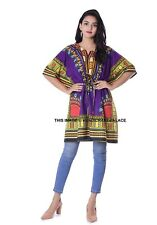 African-Women-Kaftan-Dashiki-Boho-Hippie-Short-Dress-Maxi-Gown-Caftan-Plus size