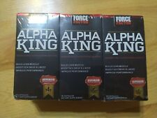 3 boxes Force Factor Alpha King Build Muscle & Boost Sex Drive  4/21