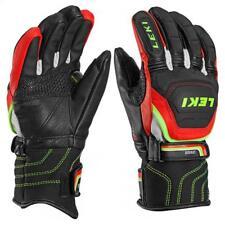 LEKI Worldcup Race Flex S Junior Gloves 6 Black/Red RRP £139.99