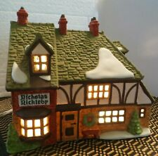 "Dept 56 Dickens Christmas Village ""Nicholas Nickleby Cottage"" #59252"