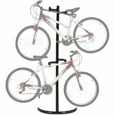 2-Bike Stand Bicycle Rack Freestanding Storage System Garage Basement