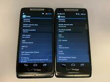 Motorola Droid RAZR M -XT907 -(2 Phones)-8GB- Black (Unlocked Vz) Smartphones