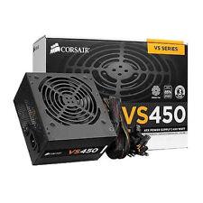CORSAIR 450W 80+ 34 AMP ATX POWER SUPPLY  MOLEX - SATA - PCI-E - PFC & 120mm FAN