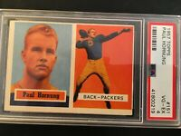 1957 Topps Paul Hornung Rookie HOF PSA 4