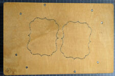 Accucut Die - A2 Card Mats Frames Pinnovation