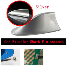 Classic Silver Color Shark Fin Antenna, Designed for Optimized FM/AM Reception