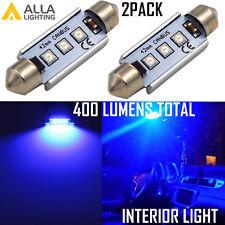 Alla Lighting Cool Blue LED 212-2 Map Dome Courtesy Ambiance Light Festoon Bulb