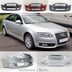 Audi A6 C6 2008-2011 STOßSTANGE Stoßfänger VORNE LACKIERT IN WUNSCHFARBE, NEU