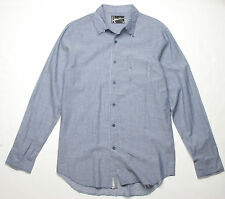 Hause of Howe Reuse Cycle Solid Shirt (M) China Blue N7W10AJ