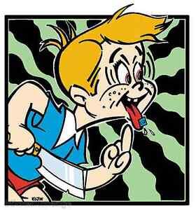 Acid Kid STICKER Decal Kozik Poster Artist KZ17