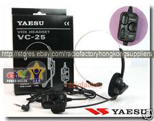 VC-25 VOX  headset for YAESU VX-2R VX-5R VX-150 FT-60