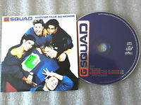 CD-G SQUAD-AUCUNE FILLE AU MONDE-DEE DEE HALLIGAN/TORELLO_(CD SINGLE)1996-2TRACK