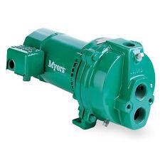 Fe Myers HJ75D 3/4HP Convertible Deep Well Jet Pump 112/230v Cast Iron