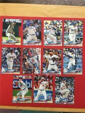 2018 Topps Opening Day Los Angeles Dodgers Team Set 11 Cards