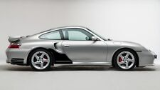 Porsche 911 996 TURBO CLEAR Large QTR Stone chip guard Protection Decal Foil