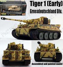 WWII German Tiger I tank Grossdeutschland Div 1943 1/72 no diecast Easy model