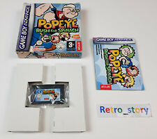 Nintendo Game Boy Advance GBA Popeye Rush For Spinach PAL