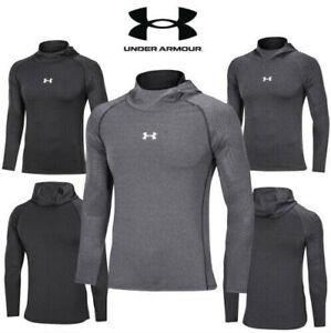 Under Armour Men UA T-Shirt HeatGear Tight Gym Running Activewear Top Dry Sports