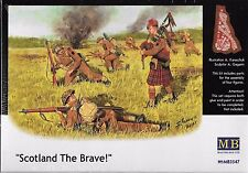 1/35 Master Box 3547 Scotland the Brave WWII  4 Figure plastic Model Kit