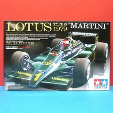 Tamiya 1/20 Lotus Type 79 1979 'Martini' with driver figure model kit set #20061