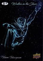 2019 UD Upper Deck Marvel Premier Written in the Stars WIS-18 Vision