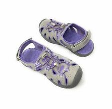 KHOMBU Durable Purple Sandals   Girls  hook /& loop /& bungee lock fisherman