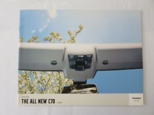 2006 Volvo C70 Convertible Sales Brochure Catalog Advertising