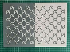 vinyl stencil 2xA4, elephant print For Sneakers, Airbrush/Painting,  oracal 651