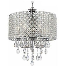 Industrial Modern Ceiling Chandelier Lighting Crystal Pendant Lamp Fixture OY