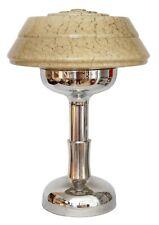 Art Déco Bauhaus Tischlampe Chrom Mid Century groß vintage Tischleuchte