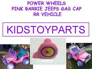 POWER WHEELS BARBIE JEEP PINK GAS CAP