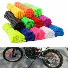 36x Colorful Wheel Rim Spoke Wraps Skins Covers for Universal Motocross Dirtbike