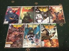LEGENDS OF THE DARK KNIGHT # 1 2 3 4 5 6 7 FIRST PRINTS