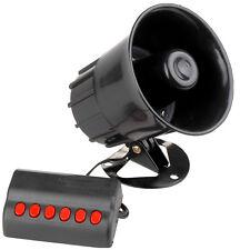 SIRENA PER AUTO 12V MEGAFONO CONTROLLER 6 TONI ALLARME EMERGENZA LIFETIME CARS