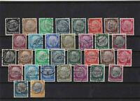 germany 1932 used stamps ref 11049
