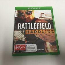 XBOX ONE GAME BATTLEFIELD HARDLINE