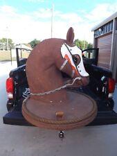 Vintage Horse Sign BAR MANCAVE KENTUCKY DERBY Horse Farm Wall Statement Piece