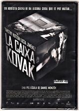 LA CAIXA (caja) KOVAK de Daniel Monzón (carátula en catalán) Edición diarios