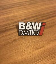 More details for bowers wilkins b&w dm110i hw00091 speaker box cabinet badge h3