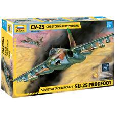 "ZVEZDA 7227 Model Kit ""Soviet Attack AirCraft SU-25 FROGFOOT"""