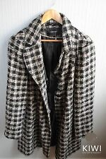 George Polyester Plus Size Button Coats & Jackets for Women