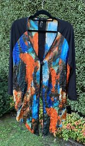 TS TAKING SHAPE LADIES CARDI TOP SIZE 18 - EUC