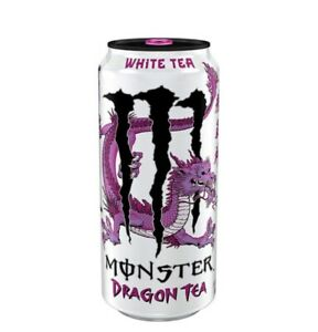 MONSTER DRAGON TEA ENERGY DRINK REHAB WHITE 458ml