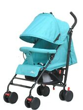 Travel Easy Lightweight Adjustable Pram Buggy Foldable Pushchair Baby Stroller