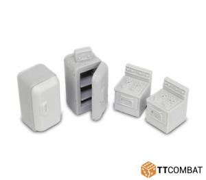 DCSRA018 TTCombat - City Streets - Kitchen Accessories - (Terrain, Gelände, 40k)