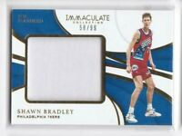 2018-19 Shawn Bradley #/99 Jersey Panini Immaculate 76ers