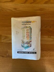 Lighthouse Video Arcade Game Instruction Manual, LAI Games 2000